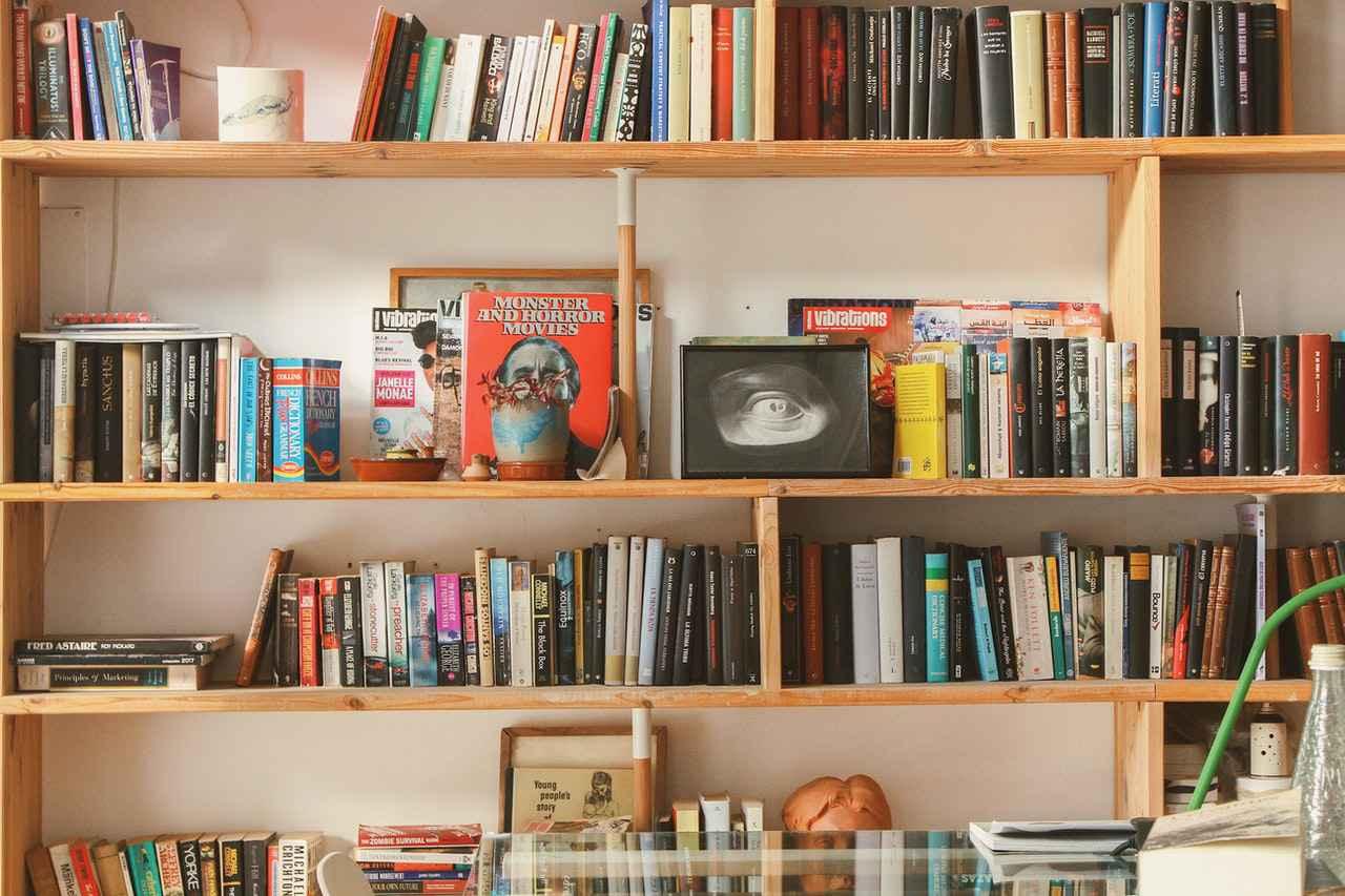 一人暮らしにおすすめの本棚3選【電子書籍が最適】