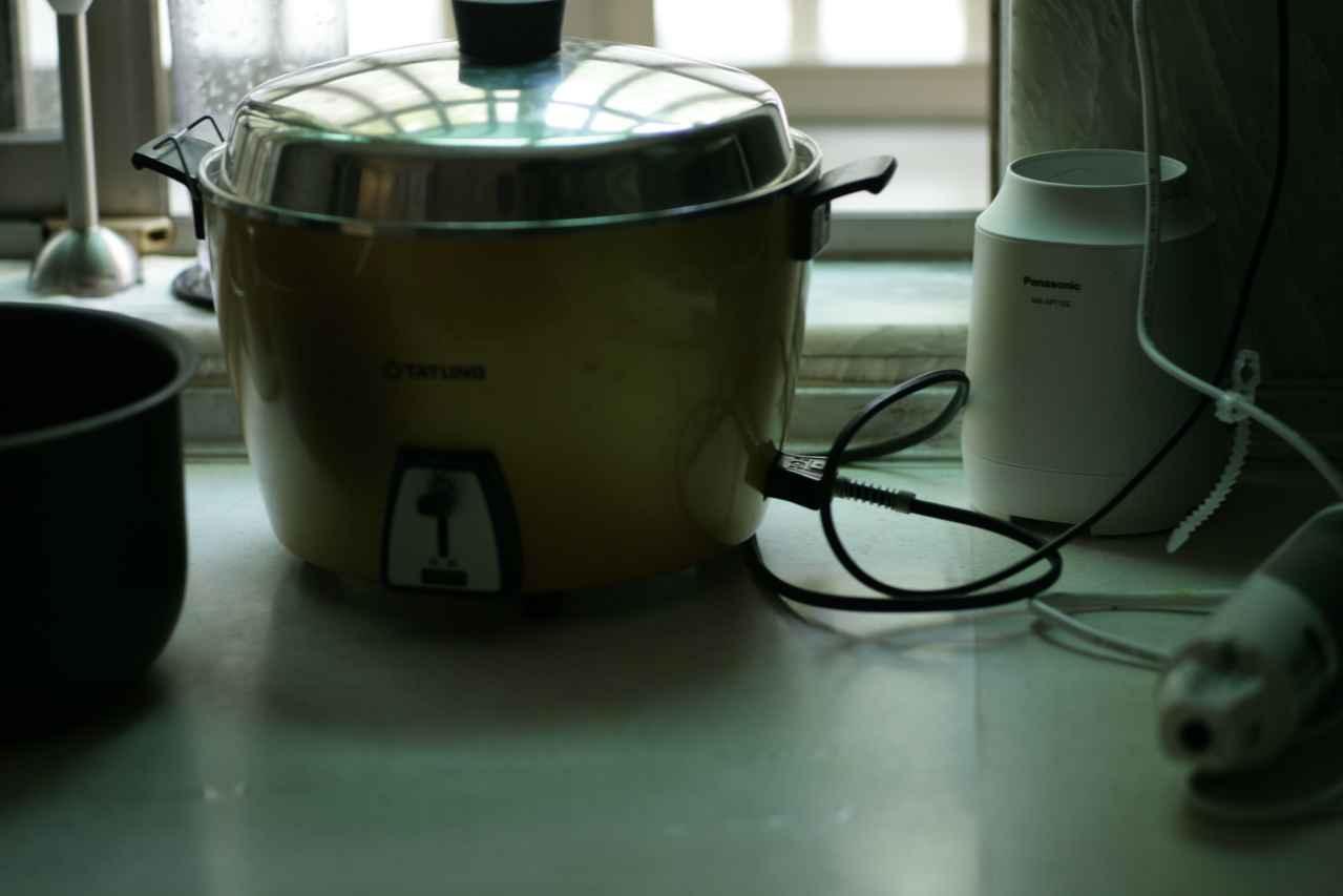 一人暮らしに最適な炊飯器置き場とは?【2つあり】